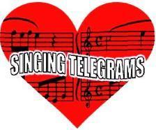 Singing Telegram clipart