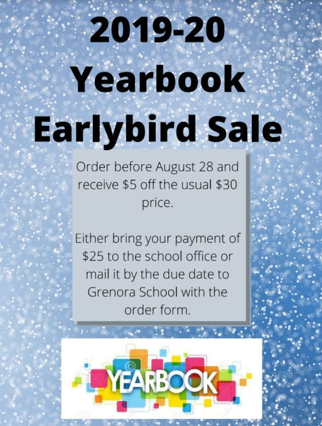 yearbook sales form